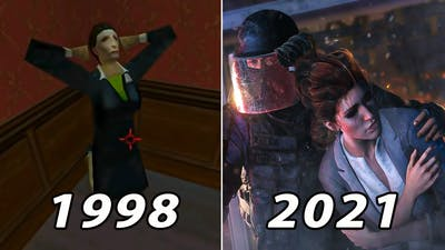 Hostage Rescue Evolution in Rainbow Six Games 1998-2021