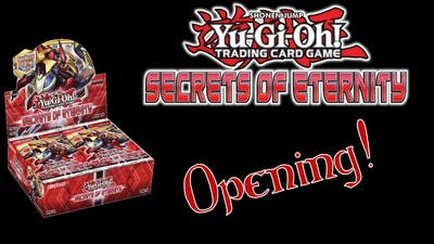 Best Secrets of Eternity Booster Box Opening Ever!