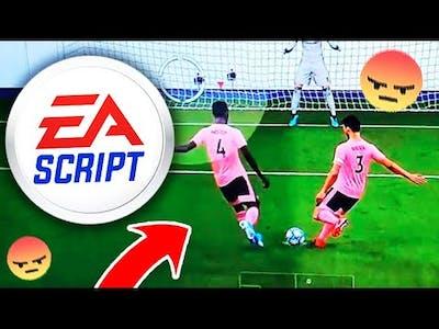 FIFA 21 IS STILL SCRIPTED