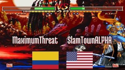 Samurai Shodown V Special (FT5) - MaximumThreat (CO) vs SlamTownALPHA (US) - 2021-08-13