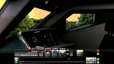 RailWorks 3 Train Simulator 2012 Over the Speed Limit 145 MPH Electric Train With No Music