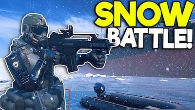 EPIC SNOW SPEC OPS BATTLE IN VR! - Zero Caliber VR Gameplay - Oculus VR Game