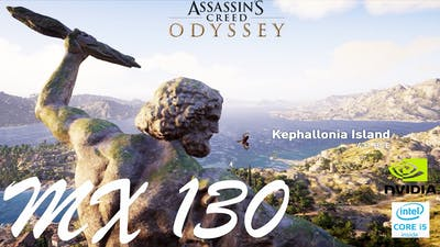Assassin's Creed Odyssey - First Impression | NVIDIA GeForce MX 130 Gameplay
