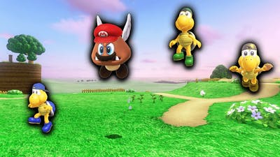 Koopa Freerunning but I play as a Paragoomba (Mario Odyssey Mod)