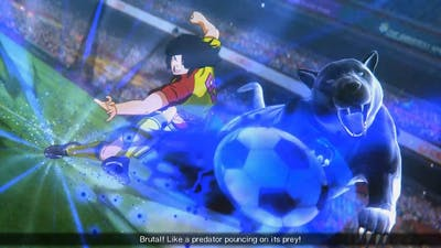 Captain Tsubasa: Rise Of New Champions - Team Longhair Vs Italy - Round Of 16