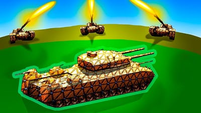 Can Anything Stop This SHIELDED SUPER TANK in Forts?!