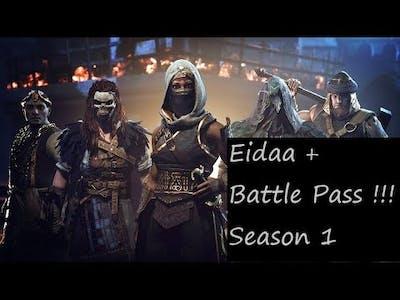 Hood : Outlaws & Legends Season 1 - Eidaa + Battle Pass Showcase !!!! All Tiers !! Outfits & More!