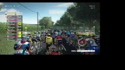 TDF 2021 Game, Stage 6 of Tour De France as Jumbo Visma