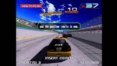 Sega Hikaru Nascar Opening + Demo + How to Play (Real Hardware, 720p Capture)