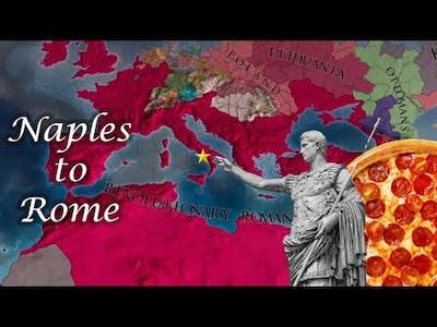 Mare Nostrum as Naples - EU4 timelapse