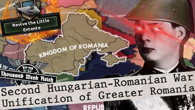 King Michael Reforms Greater Romania into Superpower! TWR- Hearts of Iron 4