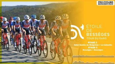 ÉTOILE DE BESSÈGES 2021 - STAGES 2 & 3 | PRO CYCLING MANAGER 2020