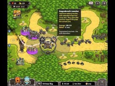 Kingdom Rush - Hushwood - Campaign - Walkthrough - Guide - Tutorial - How To