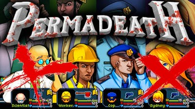 ¡PERMADEATH ZOMBIE! | Infectonator SURVIVORS #1