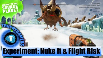 Journey To The Savage Planet - Experiment: Nuke It, Flight Risk & Pikemander Live Sampler