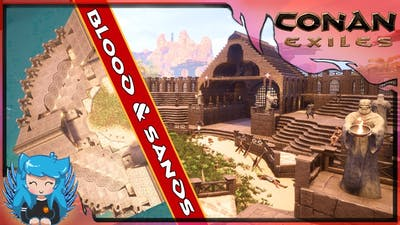 THE THRONE ARENA -SHOWCASE- (How to Build) - Blood & Sands | Conan Exiles |