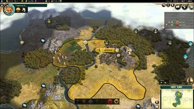 Civilization 5: Brave new world - part 1 - multiplayer - Russia and Poland
