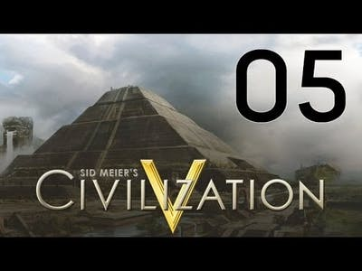 Civilization V Gods & Kings Let's Play Part 5 - Pretty Unhappy
