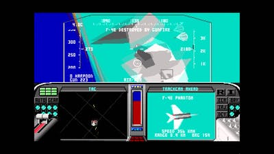 Let's Play F-19 Stealth Fighter 7: Harpoon Failure