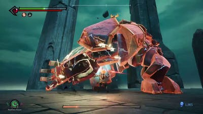 Darksiders III (Keepers of the Void) Boss Fight