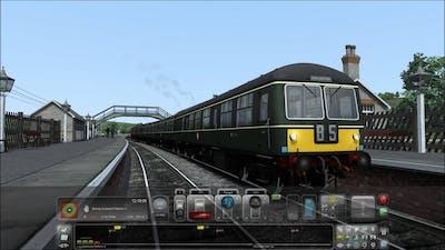 Train Simulator 2015. Wearhead-Bishop Auckland. (5x speed)