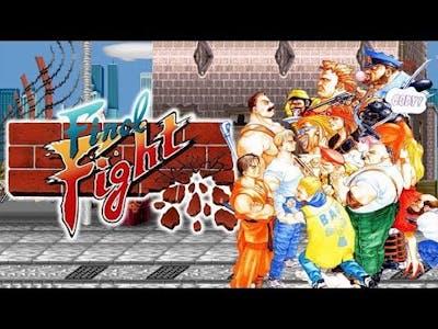 Capcom BEAT Em up Bundle FINAL FIGHT Arcade Replay pt 4