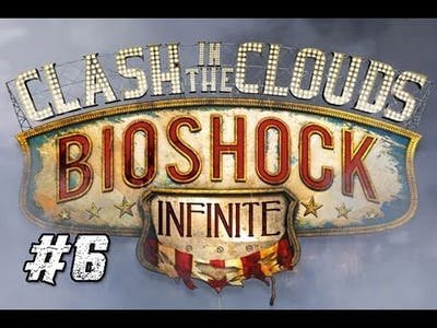 Bioshock Infinite DLC: Clash in The Clouds [6] Most Terrifying Thing!