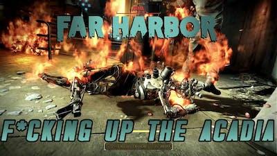 Fallout 4 | Far Harbor DLC - F*cking up the Acadia