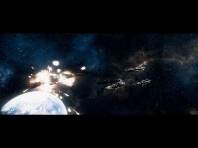 """BATTLESTAR GALACTICA Deadlock """"Ghost Fleet Offensive"""" Mission 1"""