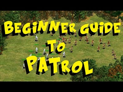 Beginner Guide to Patrol and Attack Move