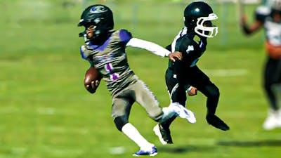 WHOA!! This Kid Got JUKES🔥🔥 Lucas Jefferson 10U Youth Football Highlights