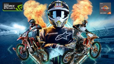 MONSTER ENERGY SUPERCROSS 4: THE OFFICIAL VIDEOGAME