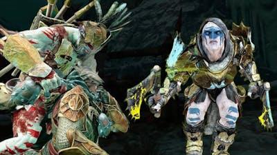 SHADOW OF WAR - Unique Night Reinforce & Ambush in Nemesis Mordor on Difficulty Gravewalker