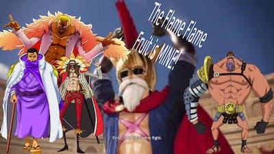 One Piece Pirate Warriors 4: Sabo eats FLAME FLAME Fruit/Do flamingos Bird Cage