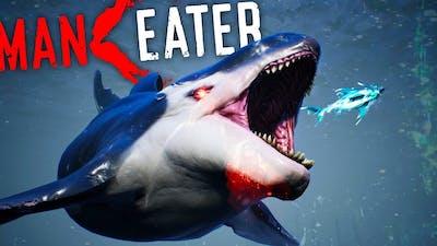 Maneater - MEG vs APEX ORCA Is INSANE! Megalodon Boss Battle & Max Infamy! - Maneater Gameplay
