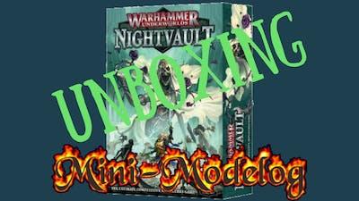 Unboxing of Warhammer Underworlds Nightvault