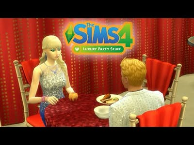 The Sims 4 - Luxury Party Stuff (Luxus Party Cuccok)