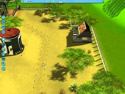 Let's Play: Roller Coaster Tycoon 3 - Scrub Gardens - 1