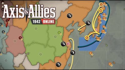 Axis & Allies 1942 Online: (Placement) vs Warmagician #4