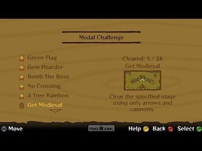 PixelJunk Monsters Ultimate Edition, Medal Challenge - Get Medieval