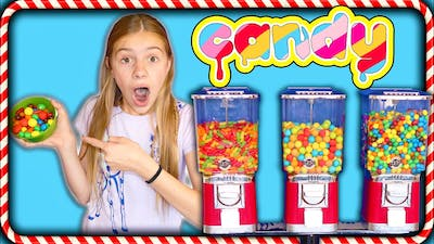 Three Color CaNDY Vending Machine!