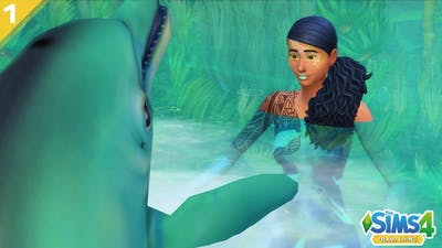 Lets Play The Sims 4 Island Living Part 1 || Island Paradise Could Never 🐬 ||