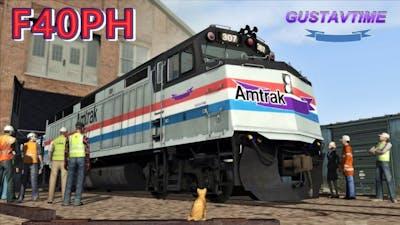 Amtrak F40ph Restoration