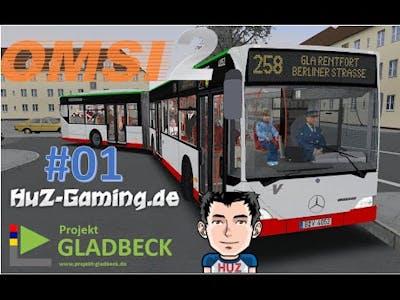 OMSI 2 GLADBECK ADDON #01 - Erstmal reintasten!
