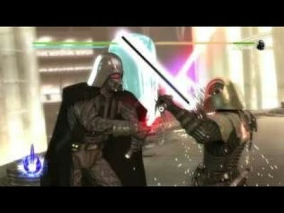 Star wars force unleashed 2 Lord Vader vs Lord Starkiller