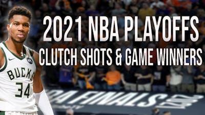 NBA Game Winners & Clutch Shots of 2021 Playoffsᴴᴰ