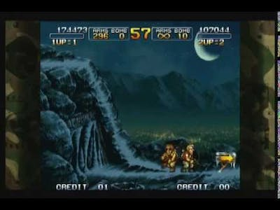 The Dead Stream First Episode! Lets Play: Metal Slug 3