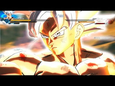 The Untouchable (Goku Ultra Instinct) Online Ranked Matches - Dragon Ball Xenoverse 2
