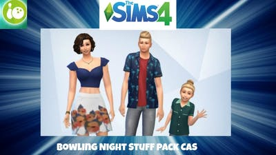 Sims 4: Bowling Night Stuff Pack | CAS |