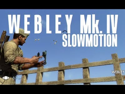 Sniper Elite 3 - Webley Mk.IV Slowmotion